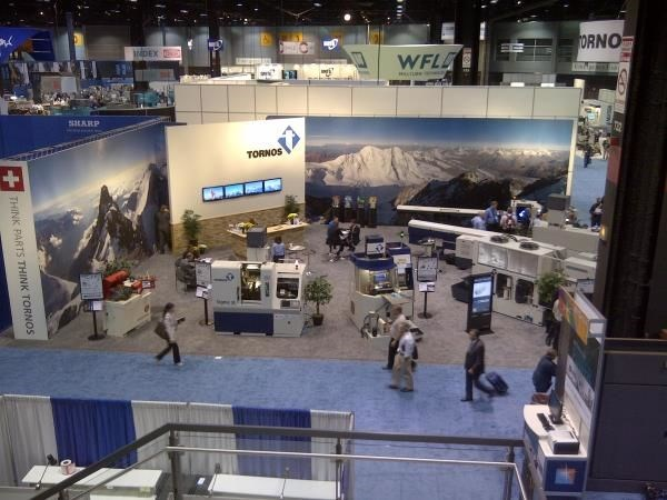 MOD023 - Custom Trade Show Exhibit for Manufacturing